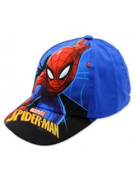 Chlapčenská šiltovka Spiderman - modrá navy