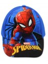 Chlapecká kšiltovka Spiderman - modrá navy