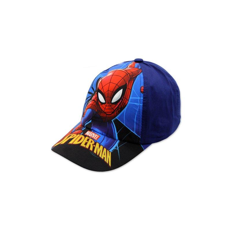 1185f8fbc Chlapčenská šiltovka Spiderman - tmavo modrá