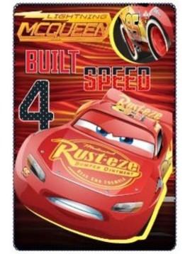 Dětská deka Auta (Cars - Pixar)