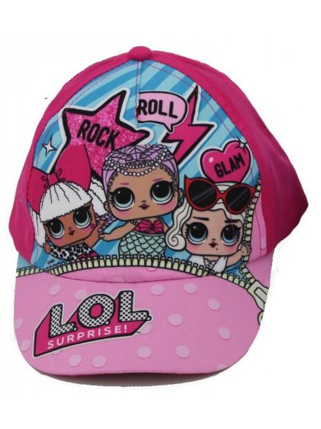 Dievčenské šiltovka L.O.L. Surprise - ružová