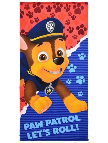 Detská osuška Tlapková patrola (Paw Patrol) - Chase