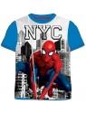 Chlapčenské tričko s krátkym rukávom Spiderman MARVEL- modré