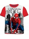 Chlapecké tričko s krátkým rukávem Spiderman MARVEL - červené