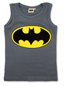 Chlapecký bavlněný nátělník  Batman - šedý