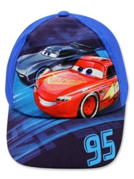 Chlapecká kšiltovka auta McQueen (Cars) - modrá