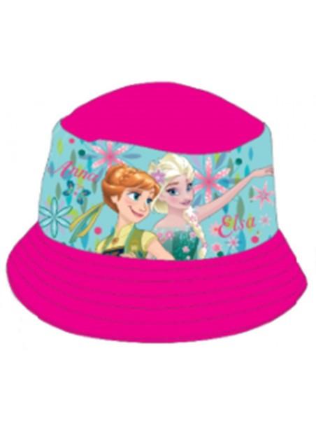 Dievčenské klobúčik Ľadové kráľovstvo (Frozen) - ružový