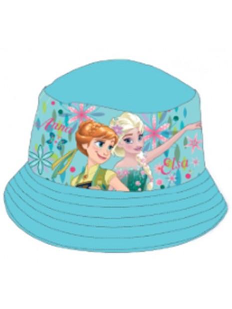 Dievčenské klobúčik Ľadové kráľovstvo (Frozen) - tyrkysový