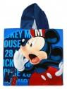 Detské bavlnené pončo osuška s kapucňou Mickey Mouse