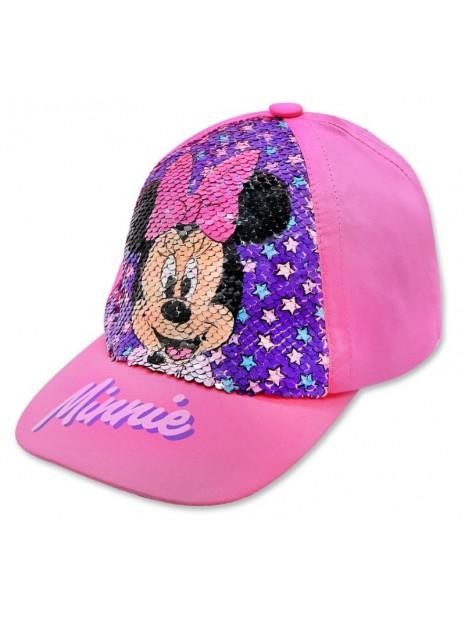 Dívčí kšiltovka Minnie Mouse (Disney) - měnící flitry