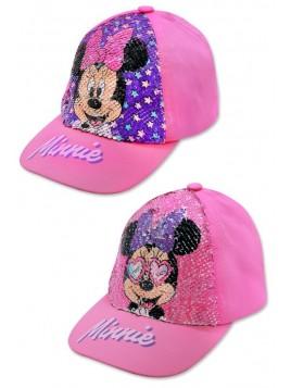 Dievčenské šiltovka Minnie Mouse (Disney) - meniace flitre