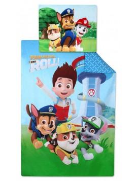 Dětské bavlněné povlečení Tlapková patrola pro kluky (Paw Patrol) - ROLL