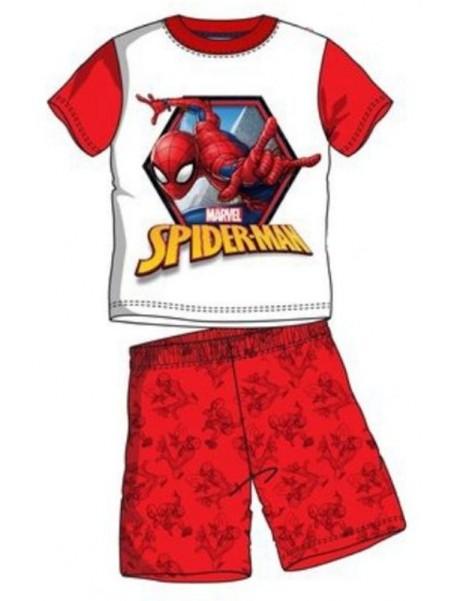 Chlapecká letní souprava Spiderman - červená