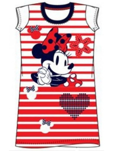 Dívčí noční košile Minnie Mouse (Disney)  - červená