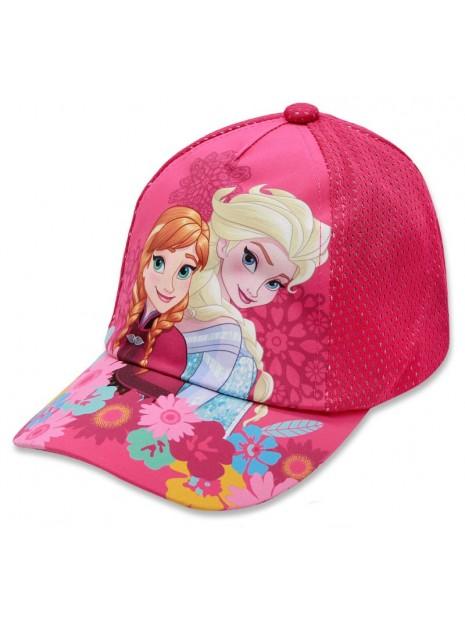 Dívčí kšiltovka Ledové království (Frozen) - růžová