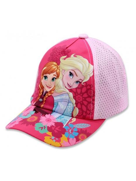 Dívčí kšiltovka Ledové království (Frozen) - sv. růžová