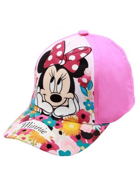 30c1ab878 Dievčenská šiltovka Minnie Mouse (Disney) - sv. ružová