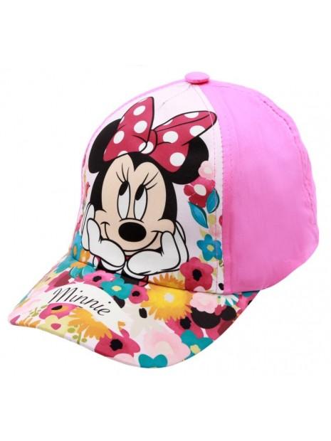 Dívčí kšiltovka Minnie Mouse (Disney) - sv. růžová