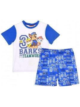 Letní chlapecké pyžamo Tlapková patrola (Paw Patrol)