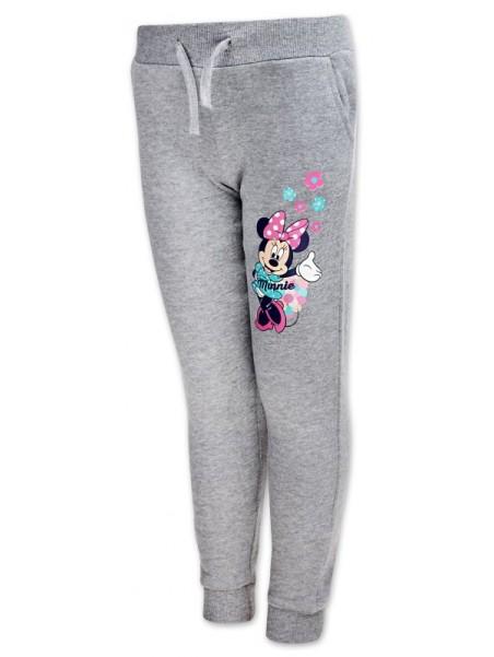 Dievčenské tepláky Minnie Mouse (Disney) - šedé