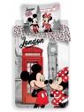 Bavlnené obliečky Mickey a Minnie London ❤ (Disney)