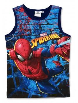 Chlapecké tričko (nátělník) Spiderman MARVEL - tm. modré
