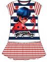 Dievčenské bavlnené šaty Čarovná lienka (Ladybug)