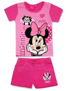 Dívčí letní set Minnie Mouse (Disney) - malinový