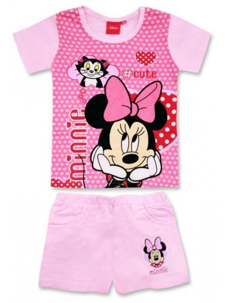 Dívčí letní set Minnie Mouse (Disney) - růžový