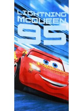 Detská bavlnená osuška Autá (Cars) - Blesk McQueen 95
