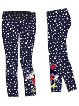 Dievčenské legíny Minnie Mouse - Disney - tm. modré