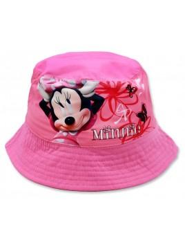 Dívčí klobouček Minnie Mouse (Disney) - tm. růžový