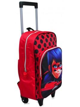 Dětský cestovní kufr Kouzelná beruška - Ladybug