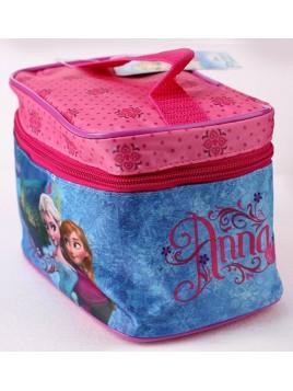 Dievčenské kozmetická taška Ľadové kráľovstvo - Frozen - ružová