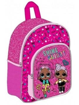 Dětský batoh s přední kapsou L.O.L. Surprise - SHINE BRIGHT