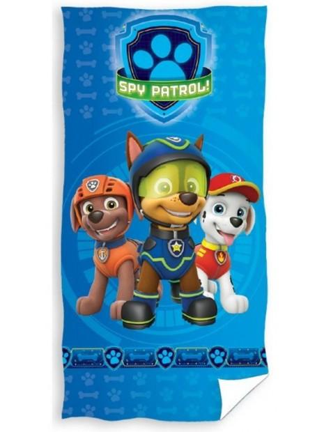 Dětská bavlněná plážová osuška Tlapková patrola (Paw Patrol) - Špióni