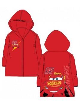 Chlapčenská pláštenka proti dažďu Autá (Cars) - červená