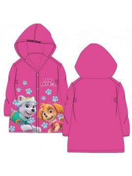 Dívčí pláštěnka Tlapková patrola (Paw Patrol) - růžová