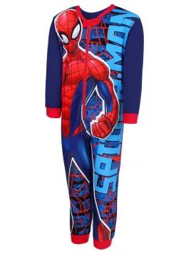 Chlapecké pyžamo overal Spiderman MARVEL - tm. modrý