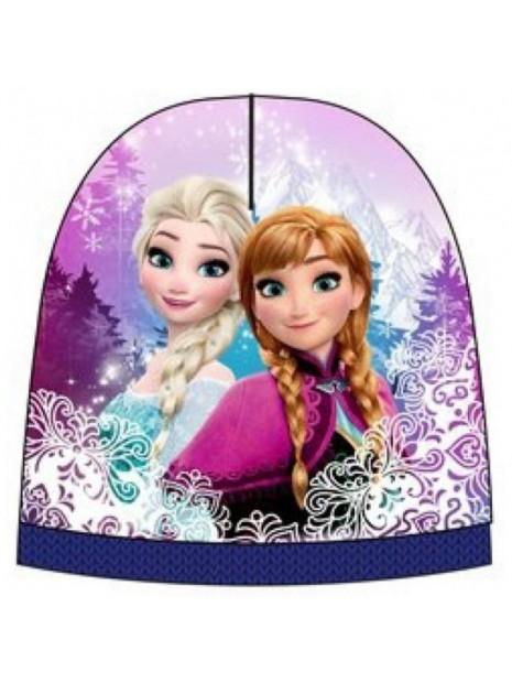 Dievčenská čiapka Ľadové kráľovstvo - Frozen - modrá