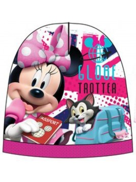 Dívčí čepice Minnie Mouse - růžová
