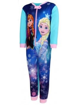 Dievčenské pyžamo overal Ľadové kráľovstvo (FROZEN) - tyrkysové