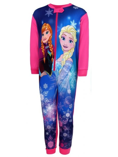 Dívčí pyžamo overal Ledové království (FROZEN) - růžové