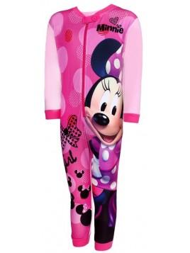 Dívčí pyžamo overal Minnie Mouse - sv. růžové