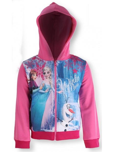 Dívčí mikina s kapucí Frozen