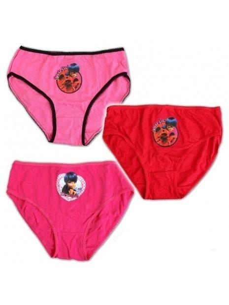 Dívčí kalhotky Kouzelná Beruška - Ladybug  3ks