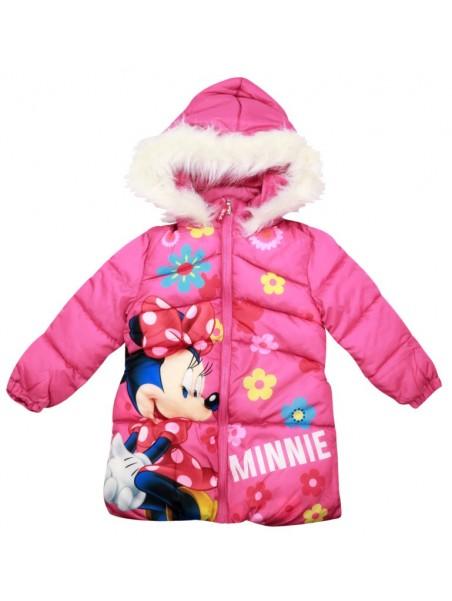 Prešívaný dievčenský zimný kabát Minnie Mouse (Disney)