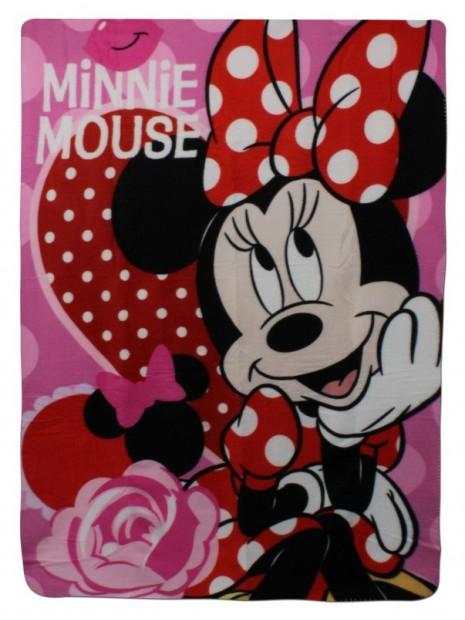 Detská fleecová deka Minnie Mouse - Disney