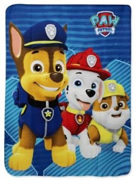 Dětská fleecová deka Tlapková patrola - Paw Patrol