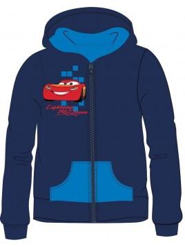 E plus M - Chlapčenská / detská mikina s kapucňou Cars AUTÁ - blesk McQueen - veľ. 116